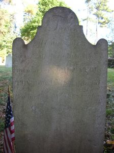 John Stoutenburgh Headstone