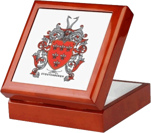 Stoutenburgh Crest Keepsake Box